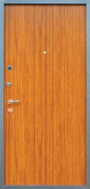 железная дверь с ламинированием
