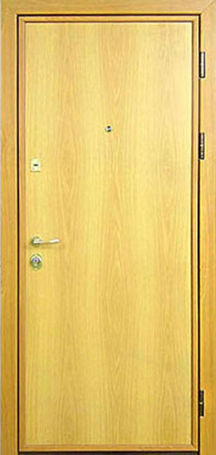 установка ламината на железную дверь