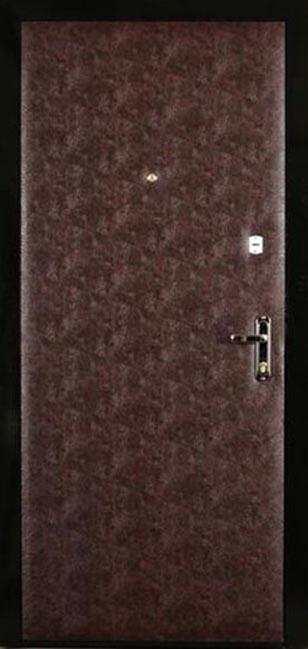 стальные двери с кожзаменителем